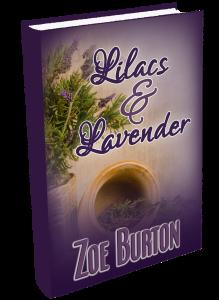 ZoeBurton-BookStanding-LilacsAndLavender